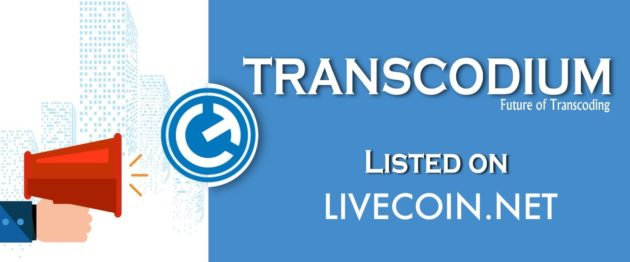 Transcodium (TNS) on livecoin