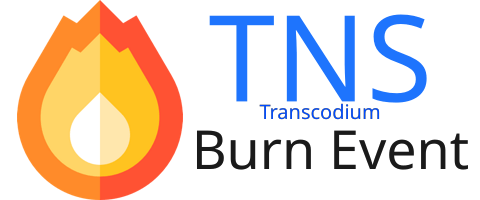 Transcodium (TNS) burn event